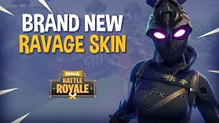*NEW* Ravage Skin!! - Fortnite Battle Royale Gameplay - Ninja