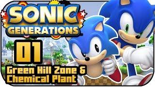 Sonic Generations PS3 - #1 - Green Hill Zone & Chemical Plant En Español