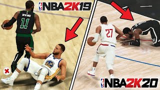 GETTING AN ANKLE BREAKER ON EVERY NBA 2K GAME IN ONE VIDEO - (2K14-2K20)