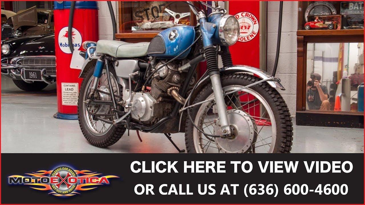 hight resolution of 1966 honda scrambler sold