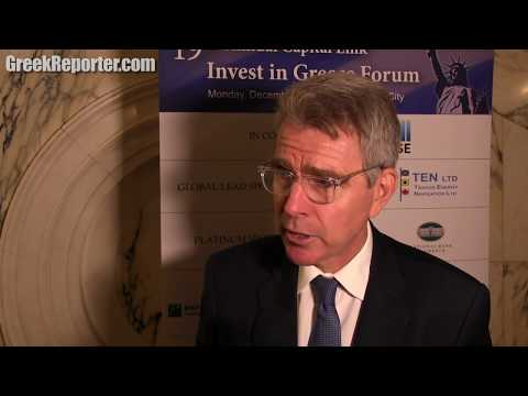 US Ambassador Geoffrey Pyatt on American investments in Greece