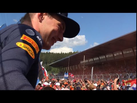 F1 Oostenrijk/Austrian GP 2018 * Highlights Weekend 🇳🇱Dutch Army🇳🇱 Redbull Tribune*Tribune Mitte