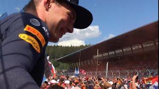 F1 Oostenrijk/Austrian GP 2018 * Highlights Weekend 🇳🇱Dutch Army🇳🇱 Redbull Tribune*Tribune Mitte