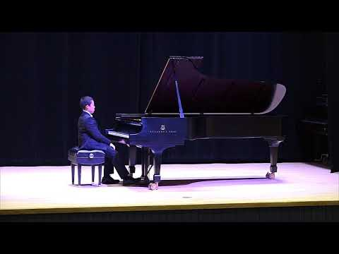 2018-2019 MTNA Student Competitions: Robert Johnston, NJ (Junior Performance - Piano)
