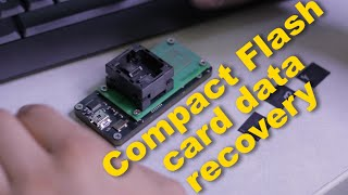 Data recovery on dead CF card. Compact flash card recovery