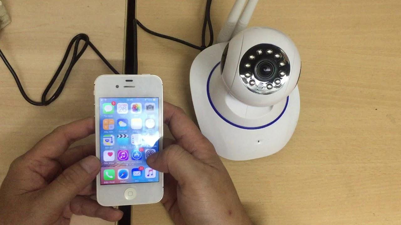 Hướng dẫn xử lý Camera Yoosee kết nối wifi không thành công
