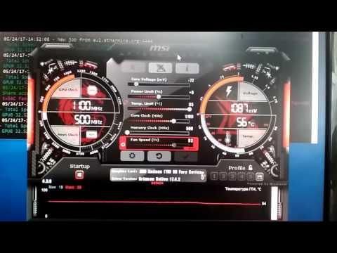 R9 Fury майнинг 32.5 Mh