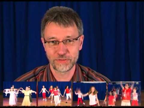 Uwe Lal über die Tanz Choreografien auf der CD 'Wir sind stark'