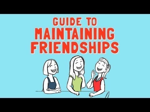 Wellcast guide to maintaining friendships youtube wellcast guide to maintaining friendships ibookread Download