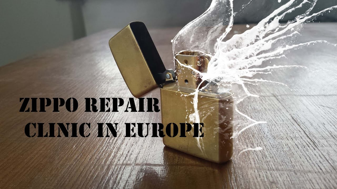 zippo repair clinic in europe? - YouTube