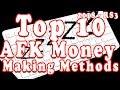 Top 10 AFK Skilling Money Making Methods - 2018