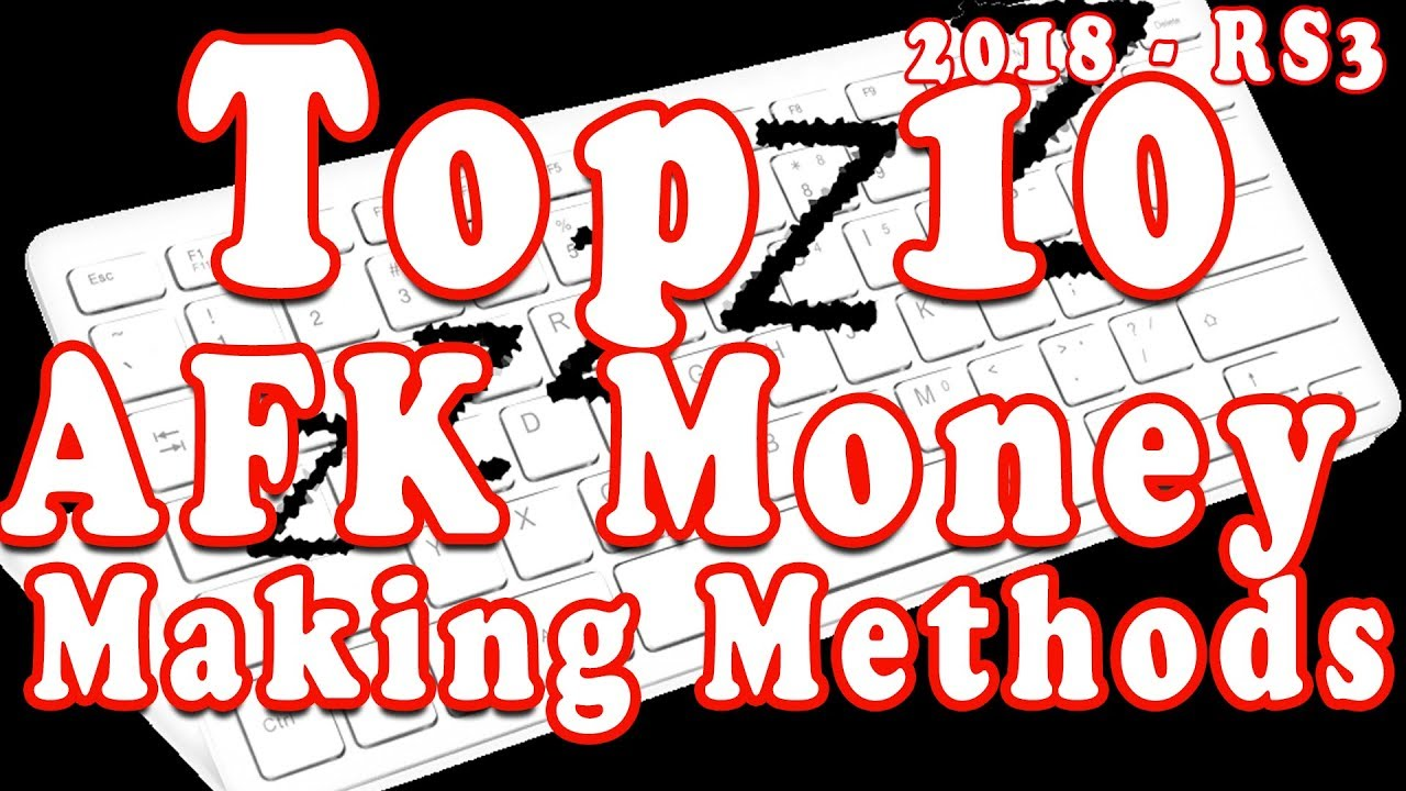 RuneScape Gold Guide: Top 10 AFK Skilling Money Making
