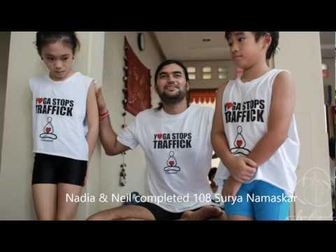 Yoga Stop Traffick Jakarta - 2013