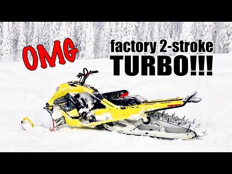 It's Real! Ski-Doo 850 Summit TURBO
