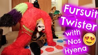 FURSUIT TWISTER with NOS HYENA (i legit went to the hospital after this)