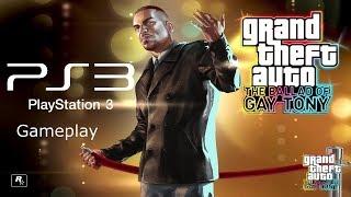 GTA: The Ballad of Gay Tony (PS3 Gameplay) [HD/60FPS]