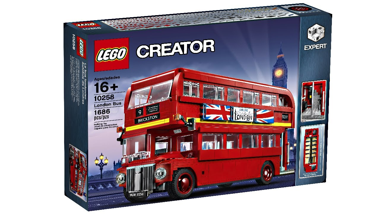 lego creator expert london bus 2017 set my thoughts. Black Bedroom Furniture Sets. Home Design Ideas