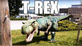 awesome T-REX dinosaur costume Ukraine AnyRobots (Купить костюм динозавра в Украине)