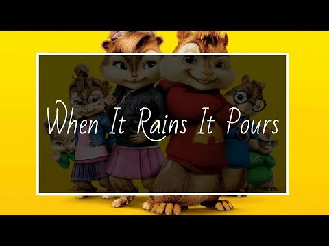 Luke Combs - When It Rains It Pours (COVER by Chipmunks)