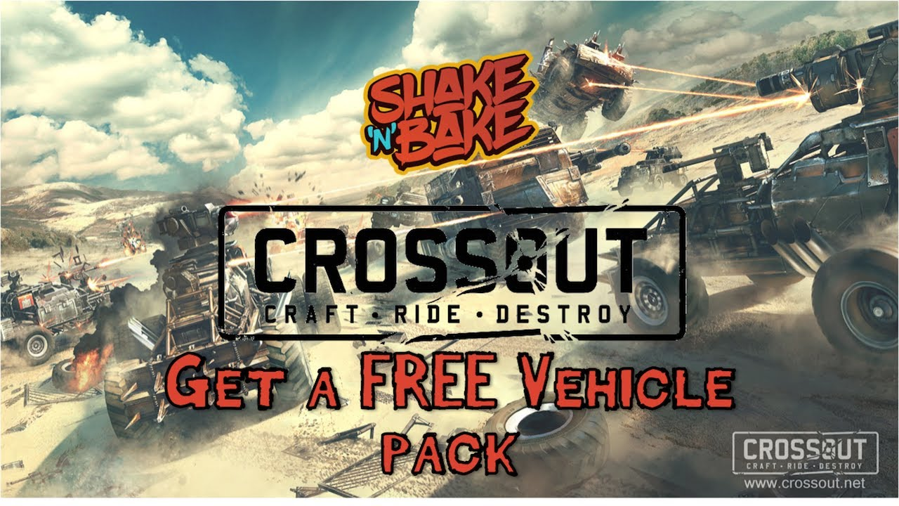 Crossout Gameplay - Get A Free Vehicle Pack!