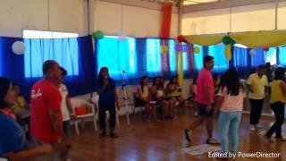 Paper dance game #EliasCuerdoReunion