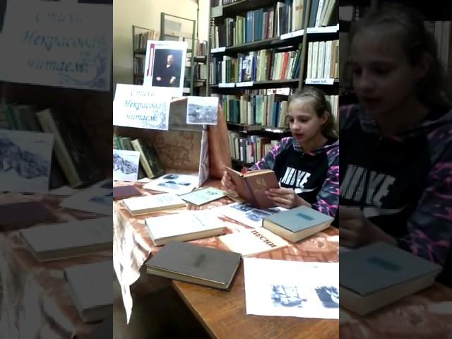Изображение предпросмотра прочтения – ЮлияСтаврова читает отрывок изпроизведения «Железная дорога» Н.А.Некрасова