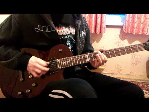 Amon Amarth - As Loke Falls (guitar cover)
