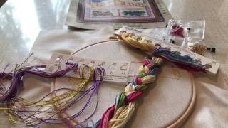 Организация процесса вышивки/Именной оберег от Panna/Вышивка крестиком