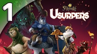 Armello Usurpers *Multiplayer* - 1. New Faces - Let's Play Armello Usurpers Gameplay