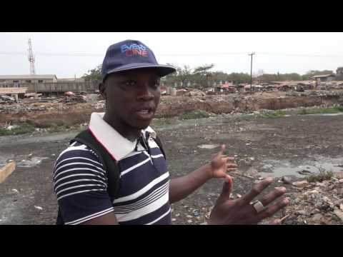 Ghana slum residents fight eviction, demolition