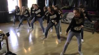 """Клубный танец (подростки 13-15 лет). Детская студия танца """"Форс"""". Рук. Биза Светлана"""