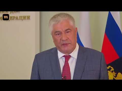 Владимир Колокольцев о прекращении дела Голунова