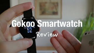 GOKOO Smartwatch Fitness Tracker Review (IP67 Water and Heart Rate Monitor Test)