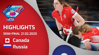 HIGHLIGHTS: Canada v Russia - Women's semi-final -...