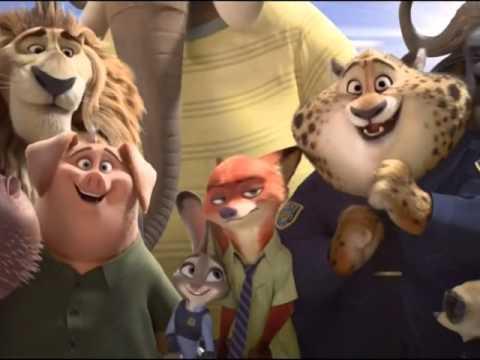 Disney Channel Russia ident - Zootopia #1