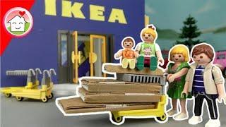 Playmobil Film deutsch - Familie Hauser im IKEA - Shopping Spielzeug Kinderfilm