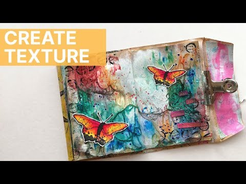 Art Journal with Me - Background Texture (No Voice Over)