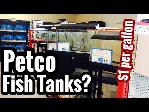 Petco Fish Tank Selection? Prices, Stands, & Sizes?