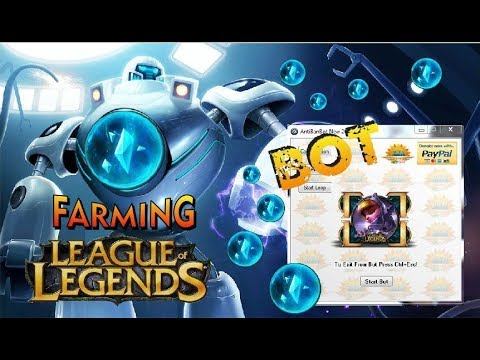 New Bot For League of Legends (Farm as much Blue Essence) and Level UP