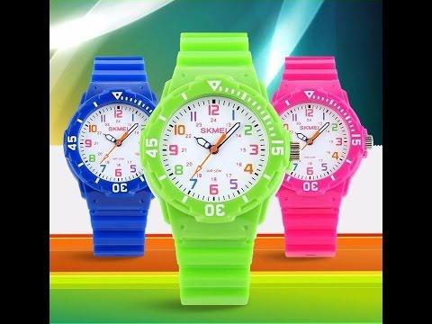 Яркие детские кварцевые наручные часы SKEMEI 1043. Купить на AliExpress. US US $7.99 (~515 руб.)