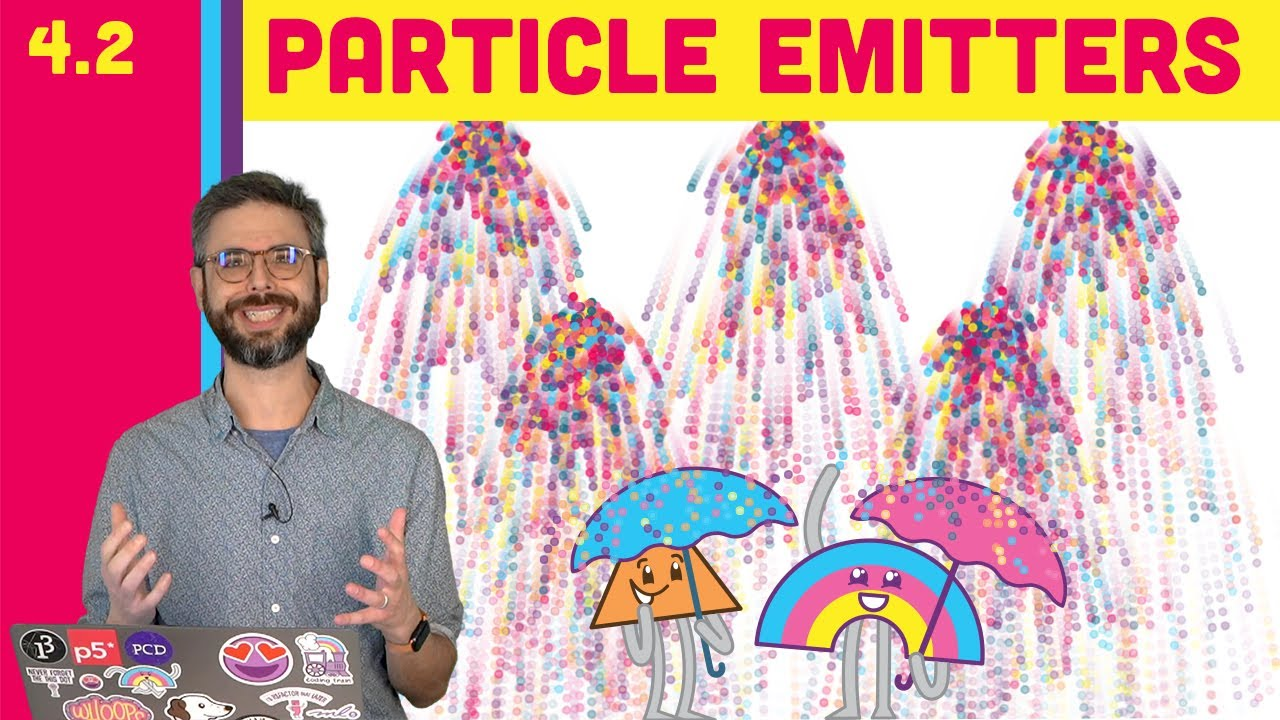 4.2: Many Particle Systems (Emitters!) - The Nature of Code
