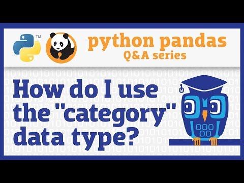 How do I make my pandas DataFrame smaller and faster? - YouTube