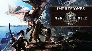 Impresiones Beta Monster Hunter World | 3GB