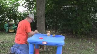 Kid Projects: Pinecone Bird Feeder
