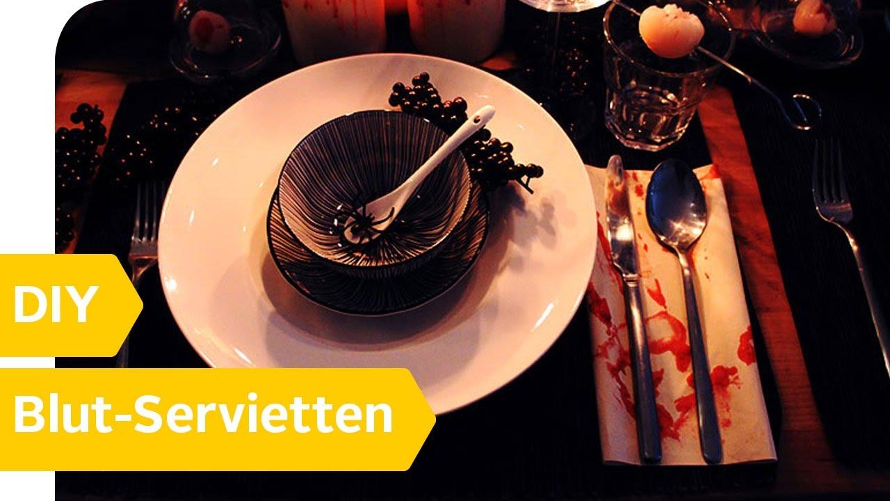 Halloween Tischdeko 3 Gruselige Tischdeko Diys Otto