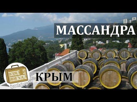 Массандра, Крым коротко о курорте. История, Дворец, Отдых