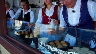 "Making ""aebleskiver's"" - Danish Pancakes !"