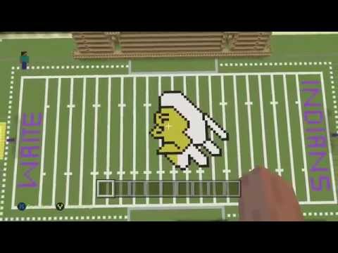 minecraft Toledo Ohio Waite high school football stadium