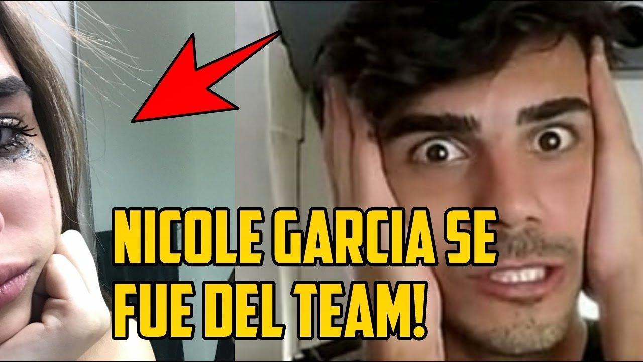 NICOLE GARCIA SE FUE de DOSOGAS TEAM! - *No más fedecole*