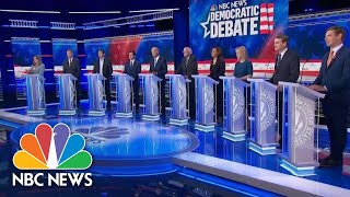 Democratic Candidates Make Final Arguments To Close Night Two Of Debate | NBC News